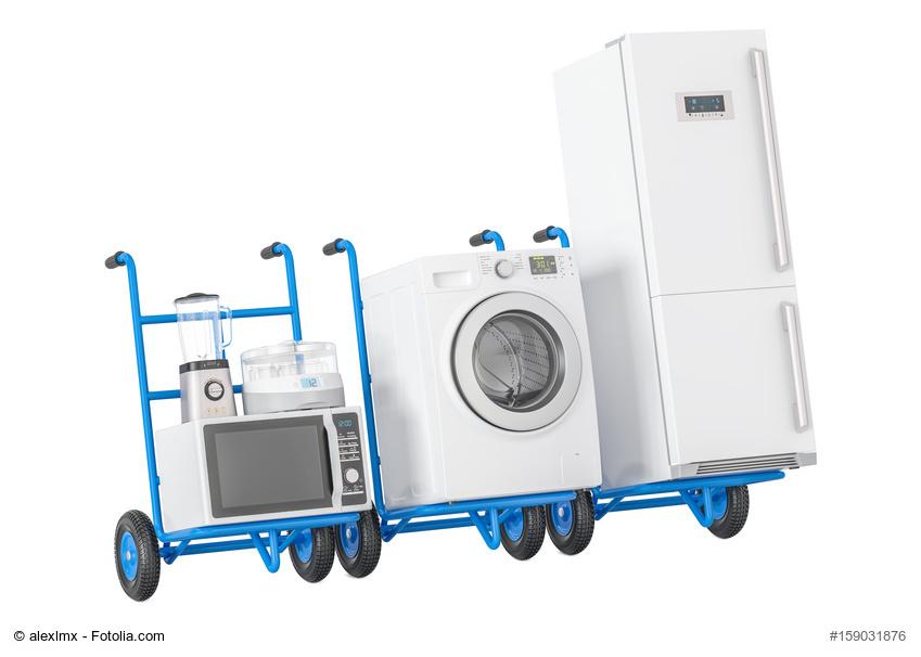 Waschmaschine und Kühlschrank transportieren: Überschwemmungen ...